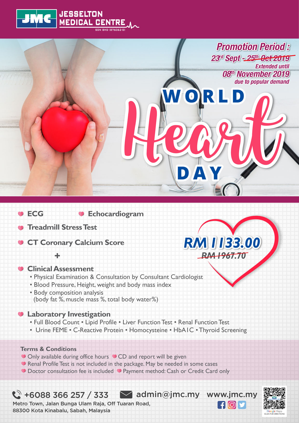 World Heart Day Packages 2019